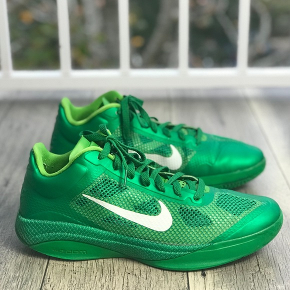 uk availability 25cce 58171 Nike Zoom Hyperfuse Low Lucky Green Men s AUTHENT.  M 5c3dff809fe486f1b5b769cc